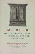 Image of Swan Turnblad's book on Swedish furniture