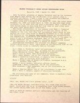 Image of Description of Magnus Turnblad's trial notes, 1909