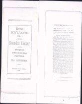 Image of Posten Lending Library book catalog, 1898