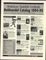 Image of ASI Museum Shop catalog, 1994-1995