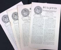Image of ASI Bulletin newsletters, 1941