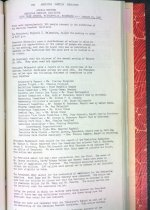 Image of ASI annual meeting minutes, 1965
