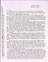 Image of Correspondence to Oscar Alm Jr., 1990