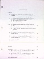 Image of Article on Vega Literary Society table of contents