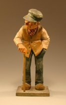 Image of Man with cane -