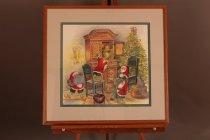 Image of Christmas Scene - ca. 1989