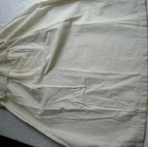 Image of White camisole with tape work embroidery.                                                                                                                                                                                                                   - camisole