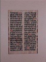 Image of Medieval church latin manuscript