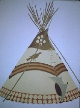 Image of EAGLE TIPI OF IRENE AND HENRY LITTLE DOG, PIEGAN