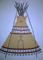 Image of MOON TIPI OF MARY AND VICTOR CHIEF COWARD, PIEGAN