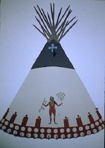 Image of PERSON TIPI OF MAGGIE SWIMS UNDER AND SWIMS UNDER,PIEGAN