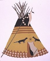 Image of YELLOW OTTER TIPI (owner unknown)