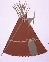 Image of RED SNAKE TIPI OF CECILE AND YELLOW KIDNEY AND YELLOW KIDNEY,