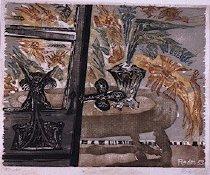 Image of FLOWERS BEHIND THE DOOR