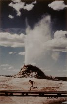 Image of THE GREAT FOUNTAIN GEYSER, YELLOWSTONE NATIONAL PARK, WYOMIN