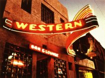 Image of WESTERN BAR AND GRILLE, BILLINGS, ZEON, CHUCK LOVE,1946 (from MON