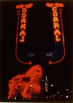 Image of CORRAL BAR, LEWISTON,  BILLINGS NEON, FRED OAKLAND AND RICK DAV