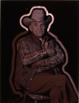 Image of COWBOY CLIFF ANDERSON, GREAT FALLS, 1986 (from MONTANA NEON exh
