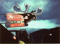 Image of MOOSE LODGE, MISSOULA, WALFORD SIGNS,NELSON ROME,1952 (from MO