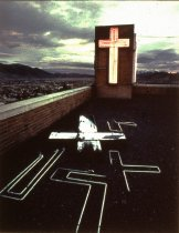 Image of ST. JAMES HOSPITAL, BUTTE, BUTTE NEON, CARL RYAN,1974 (from MONTAN