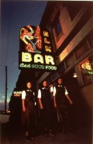 Image of ELK'S BAR, CHINOOK, ZEON, COWBOY CLIFF ANDERSON,1948 (from MONTA