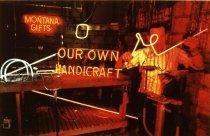 Image of STEVE TOKARSKI, PARCO NEON, LIVINGSTON, 1986 (from MONTANA NEON
