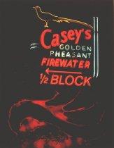 Image of CASEY'S, BILLINGS, MODERN NEON, JOHN BERLINSKY, 1936