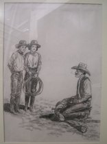 """Image of """"In the Saddle with Uncle Bill"""", """"You can get your rope if you want,"""" says"""
