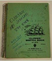 Image of sketchbook