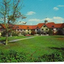 Image of Color  postcard of Tabor Acade