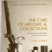 Image of 2008.005.001 - The Care of Historical Collections