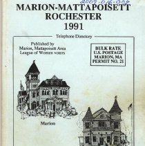 Image of 2009.016.007 - Marion - Mattapoisett  Rochester 1991 Telephone DIrectory