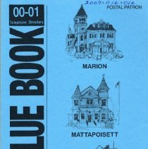 Image of 2009.016.016 - The Blue Book 00-01 Telephone DIrectory