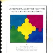 Image of L2013.001.411 - Municipal Management for the Future
