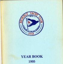 Image of REF529.040 - Beverly Yacht Club Year Book 1995