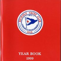 Image of REF529.044 - Beverly Yacht Club Year Book 1999
