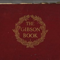 Image of 2016.021.001 - The Gibson Book I
