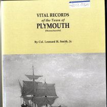 Image of 2017.001.001 - Vital Records of the Town of Plymouth (Massachusetts)