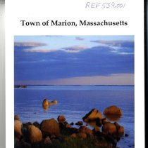 Image of REF539.001 - 2012 Annual Report Town of Marion, Massachusetts