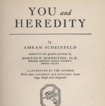 Image of You and Heredity