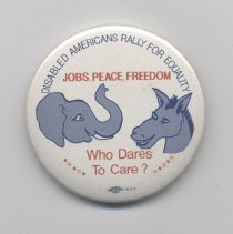 Image of 2000.50.1 - Button, Political
