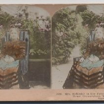 Image of Ida McKinley Stereoview