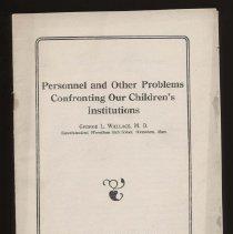 Image of Children's Institutions