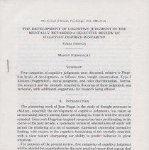 Image of 2001.53.9 - Monograph
