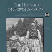 "Image of E49 .H97 1996 - Book: ""The Hutterites in North America"" by John Hostetler.  About a closed community."