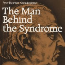 "Image of R134 .B45 1986 - Book: ""The Man Behind the Syndrome"" by Peter and Greta Beighton,  In two sections, the first with biographies of 100 physicians who had their names applied to genetic syndromes. The second section contains biographies of 110 recent physicians. The aim of the work is to "" satisfy curiosity as how to a particular condition gained its names."" Published by Springer-Varlag: Berlin."