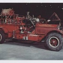 Image of J.N. Adams Fire truck