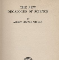 Image of Decalogue of Science