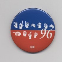 Image of 2005.106.1 - Pin, Political