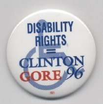 Image of 2005.106.2 - Pin, Political